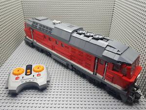 LEGO® Eisenbahn MOC Ludmilla BR130 RC Motorrisiert rot/weiß
