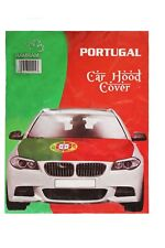 PORTUGAL Country Flag CAR HOOD COVER ..  New