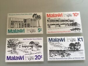 MALAWI 1980 SG 620-623 LONDON 80 STAMP Exhibition MNH