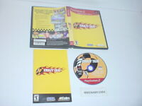 CRAZY TAXI game complete in case w/ manual for Sony Playstation 2 PS2