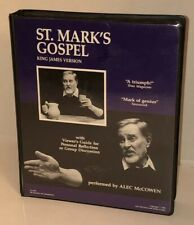 VTG ST MARKS GOSPEL Performed By Alec McCowen VHS Set American Bible Society HTF