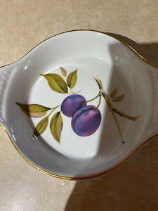 royal worcester dish evesham design