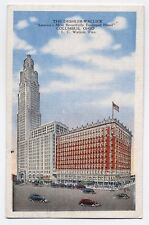 OH ~ The Deshler-Wallick Hotel COLUMBUS Ohio 1947 Franklin County Postcard