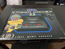 Sega MEGA DRIVE 2 mit 3 Spielen, OVP und Rechnung von 1993