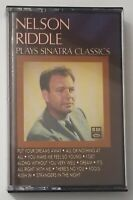 Nelson Riddle Plays Sinatra Classics Cassette 1984 Capitol Special Markets Tape