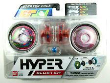 BANDAI HYPER Cluster YO-YO Starter Pack Build & Customize NEW Sealed