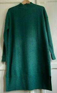 Lovely Fat Face Jumper Dress - Green - Size 10 - BNWOT