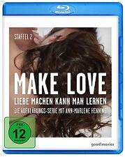 DOKUMENTATION - MAKE LOVE 2.STAFFEL  BLU-RAY NEU
