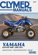 Clymer Manual Yamaha Raptor YFM700R 2006-2016 M290