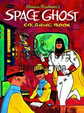 Vintage Reprint - 1967 - Space Ghost Coloring Book Sampler - Reproduction