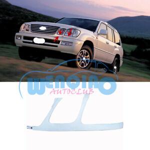 For Lexus LX470 2003-07 Unpainted Left/Front Bumper Headlamp Trim Under Network