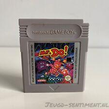 NINTENDO GAMEBOY CLASSIC GAME MR. DO! DMG-M4-FAH