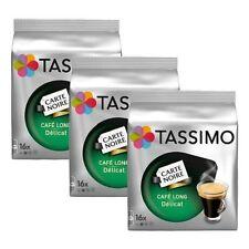3 Packs Tassimo Carte Noire Café Long Awkward T Discs - 48 boissons cafe Delicat