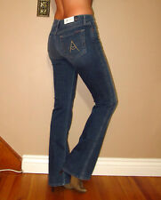 $178 Seven 7 For All Mankind A-Pocket Bootcut Mid-Rise Jeans Medium Vintag 24-28
