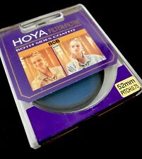 Hoya 52mm 80B 80 B Blue Color Conversion Camera Filter Made In Japan ** NEW **