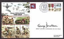 SIGNED LIMITED ED COVER FAR EAST JAPAN OPERATIONS WW2 PILOT GEORGE DONALDSON DFC