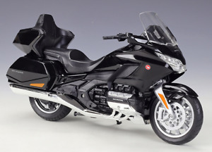 Welly 1:12 2020 Honda Gold Wing Diecast Motorcycle Bike Model Black New In Box