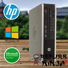HP Desktop Computer Elite Intel Core i5 Windows 10 PC WiFi 4GB RAM 320GB HD