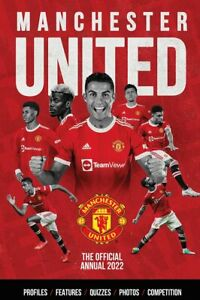 The Official Manchester United Annual 2022 By  Steve Bartram - Hardback