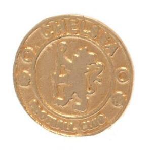 Chelsea FC 9ct Gold Earring (football club souvenirs memorabilia)