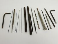 Lot of Vintage Watch Makers Hand Tools, Mixed Vintage Hand Tools