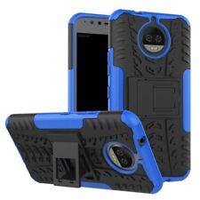 Etui Hybride 2 PIÈCES EXTÉRIEUR BLEU housse étui pour Motorola Moto G5S coque