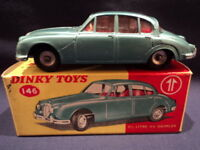 Dinky 1960's Daimler 2:5 Litre V8 No: 146 MINT Ex Shop Stock