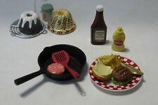 Re-ment fun meals #10 and Secret Set Cake European