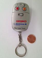 Glucotrol XL & Cardura Pharma Drug Rep Laser Flashlight Keychain 1998 VERY RARE