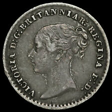 More details for 1872 queen victoria young head silver maundy penny
