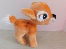 "Vintage Walt Disney Productions Bambi Plush Deer Animal  7"" Korea"