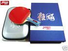 Long Handle Genuine DHS HURRICANE-II Tournament Table Tennis Racket Bat Paddle