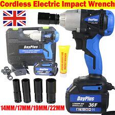 Cordless Impact Wrench Gun Driver Set 420Nm 6000mAh Lithium-ion Battery 21V Tool