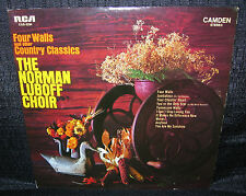 NORMAN LUBOFF CHOIR Four Walls and Other Country Classics (Original 1969 US LP)