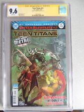 TEEN TITANS #12 CGC 9.6 SS Stjepan Sejic WP 1ST APP BATMAN WHO LAUGHS!