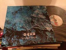 "EDGAR FROESE - SPANISH 12"" LP SPAIN AQUA - EXPERIMENTAL AMBIENT VIRGIN"