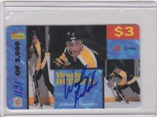 SIGNATURES ROOKIE HOCKEY WADE REDDEN AUTHENTIC AUTOGRAPH CARD 1131/3,000