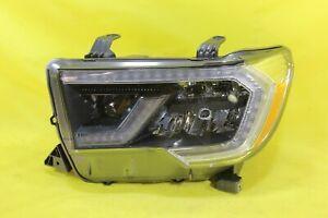 ⛩️ 18 19 20 Toyota Sequoia Left Driver Headlight OEM w/ Platinum *SOME DAMAGES*