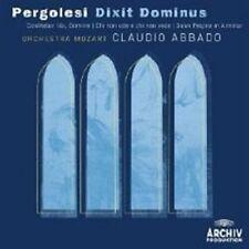 """CLAUDIO ABBADO """"PERGOLESI DIXIT DOMINUS SALVE.."""" CD NEU"""