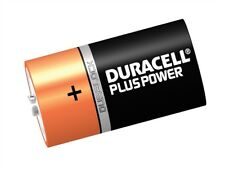 Duracell DURDK6P D Cell Plus Power Batteries Pack of 6 LR20/HP2