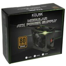 Kolink KL-600M 600W 80 Plus Bronze Rated PSU Semi Modular ATX PC Power Supply