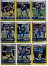 2016 Score James Laurinaitis Gold Zone Los Angeles Rams New Orleans Saints /99