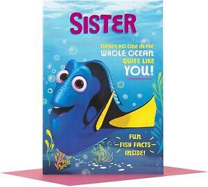 Hallmark Disney Finding Dory Sister Birthday Card