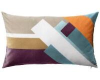 IKEA Luktaster Multicolor Cotton Velvet Cushion Cover [40 x 65cm] NEW