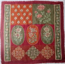 -Superbe foulard VALENTINO cachemire/soie   TBEG vintage scarf 86 x 90 cm