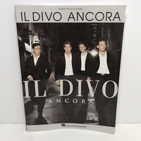 Il Divo Ancora Songbook Sheet Music Piano Guitar Chords Lyrics All by Myself
