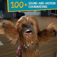 Star Wars Ultimate Co-Pilot Chewie Interactive- Fur Real Plush 100+ Sounds