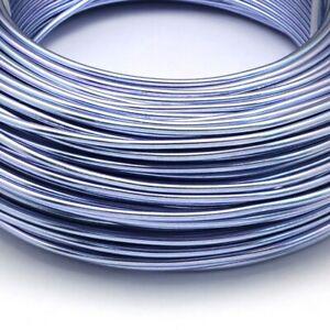 2mm Aluminium Wire 17 colours 1m, 3m & 6m rolls Necklace, Bracelet