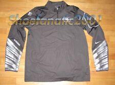 Nike San Francisco SF 49ers Platinum Rush 2.0 Jacket 597644-060 Retail $155 M