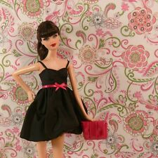 AUTHENTIC DRESS Barbie Basics Collection 1.5 Model 1 Dress-Shoes-Purse NO DOLL